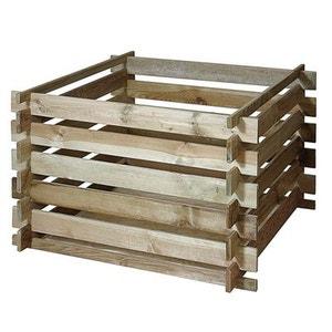 Bac à compost en bois Primo CEMONJARDIN