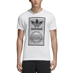 Tee shirt col rond, manches courtes Adidas originals