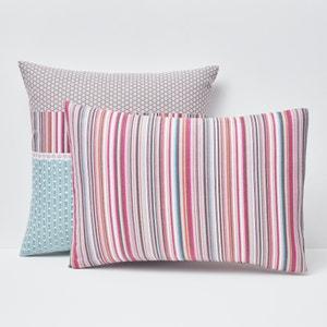 Metismix Printed Flannel Pillowcase La Redoute Interieurs