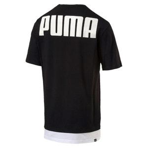 T-Shirt mit Rundhalsausschnitt, unifarben PUMA