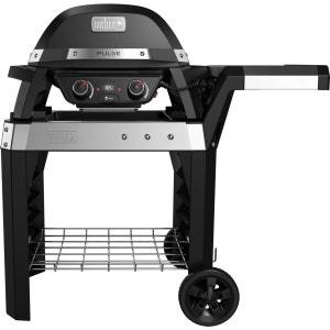 Barbecue WEBER PULSE 2000 noir avec char WEBER