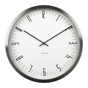 horloge horloge murale design en solde karlsson la redoute. Black Bedroom Furniture Sets. Home Design Ideas