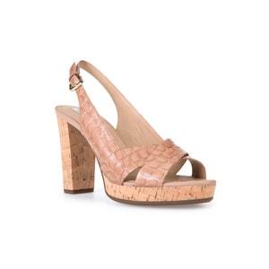 Sandalen met hak D Mauvelle C GEOX
