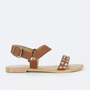 Sandalen in leer Manou JONAK