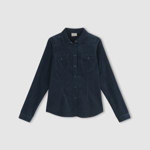 Camisa vaquera jean, con manga larga y bolsillos, VMKAYA VERO MODA