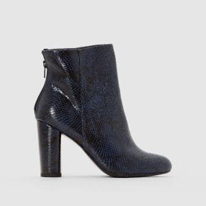 Boots effet python à talon MADEMOISELLE R