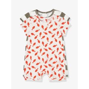 Lot de 2 pyjashorts bébé coton pressionné dos VERTBAUDET