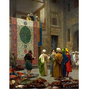 Puzzle 1000 pièces : Jean-Léon Gérôme : Marchand de tapis au Caire DTOYS