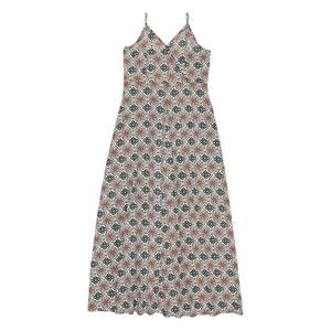 Lange jurk, smalle schouderbandjes B.YOUNG