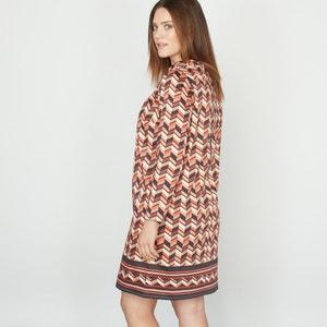 Vestido estampado de algodón stretch CASTALUNA