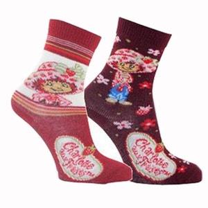 3 Paires de chaussettes Charlotte aux Fraises 24-26 ARDO