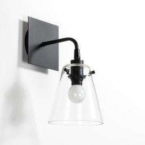 Wandlamp in metaal en glas, Kiyo La Redoute Interieurs