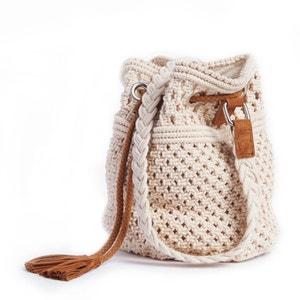 Cotton Macramé Bucket Bag MADEMOISELLE R