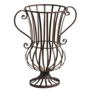 Vase décoratif en métal veilli AUBRY GASPARD