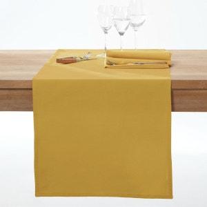 chemin de table jaune la redoute. Black Bedroom Furniture Sets. Home Design Ideas