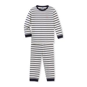 Pyjama garçon à rayure marinière PETIT BATEAU