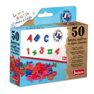 Coffret 50  lettres majuscules Aimantées JEUJURA
