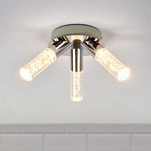 Plafonnier salle de bains LED Duncan à 3 lampes LAMPENWELT