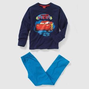 Pijama CARS de punto 100% algodón, 6 meses-18 años CARS