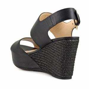 Sandales compensées HD122 CAFENOIR