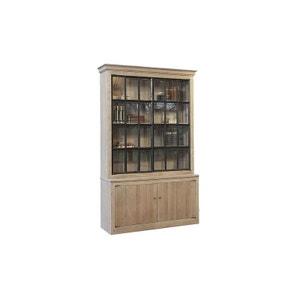 meuble vitrine bois la redoute. Black Bedroom Furniture Sets. Home Design Ideas