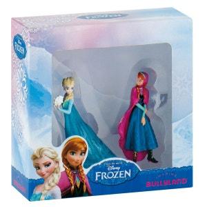 Disney La Reine Des Neiges - Coffret 2 Figurines Anna Et Elsa - JURB13063 BULLYLAND