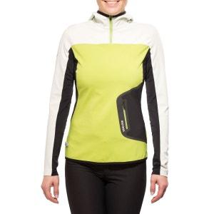 Holly  - Sweat-shirt - vert/blanc EDELRID