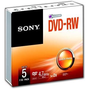 DVD SONY DVD-RW 4.7Go X5 SONY