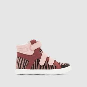 Zapatillas deportivas de caña alta, estampado tigre abcd'R