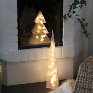 3D TREE - Sapin lumineux LED H35cm XMAS LIVING GLASS