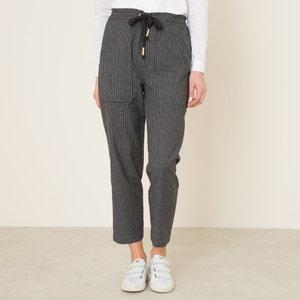 Pantalon à carreaux LAURENCE BRAS