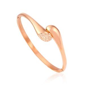 Bracelet Acier Cristal ALISON