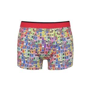 Boxer avec imprimés portes multicolores COTON DOUX