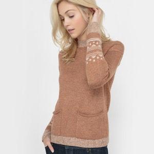 Żakardowy sweter R studio