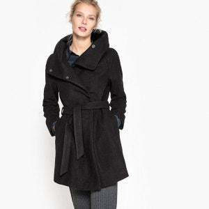 Manteau avec col enveloppant La Redoute Collections