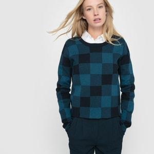 Short Checked Jumper/Sweater R essentiel