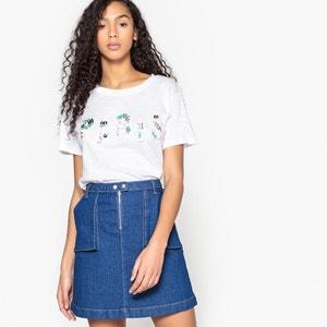 T-Shirt mit rundem Ausschnitt MOLLY BRACKEN