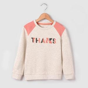 Sweatshirt with Bouclé