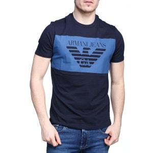 T Shirt Armani Jeans 3y6t24 - 6j00z 1579 Blu Notte ARMANI JEANS
