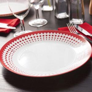 Service de vaisselle rouge Arcopal Adonie 18 pièces LUMINARC