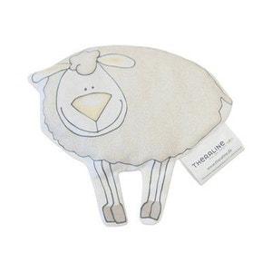 THERALINE Le coussin-bouillotte «mouton» aux noyaux de cerises santé bébé THERALINE