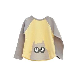 Tshirt bat-chat LA QUEUE DU CHAT