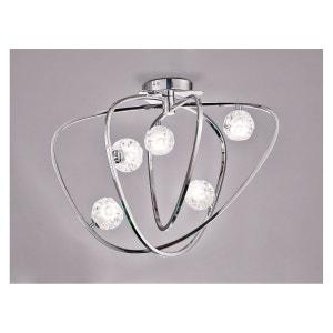 Plafonnier design Lux 5 Lampes MANTRA