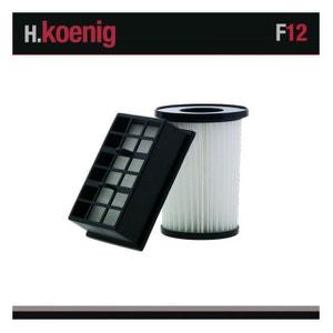F12 SET FILTRES ASPIRATEUR HUGO TC30S H.KOENIG WINKEL
