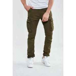 Pantalon Cargo Schott Tr Ranger Kaki Homme SCHOTT