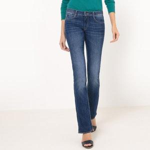 Jeans bootcut, cintura normal, comprimento 32 LE TEMPS DES CERISES