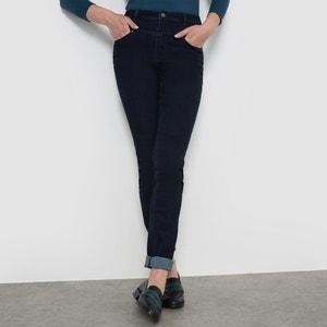 Jean slim taille haute double rehausse R édition