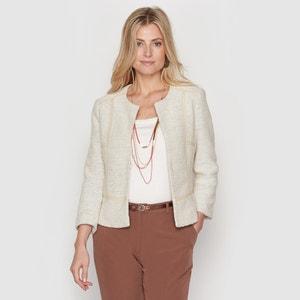 Two-Tone Tweed Jacket ANNE WEYBURN