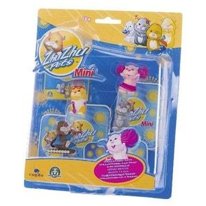 ZHU ZHU PETS - Pack de 4 mini figurines : Jilly- Patch- Num Num - Scoodles ZHU ZHU PET