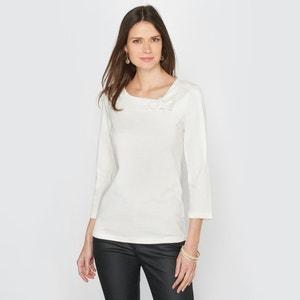 T-Shirt aus Baumwolle & Modal ANNE WEYBURN